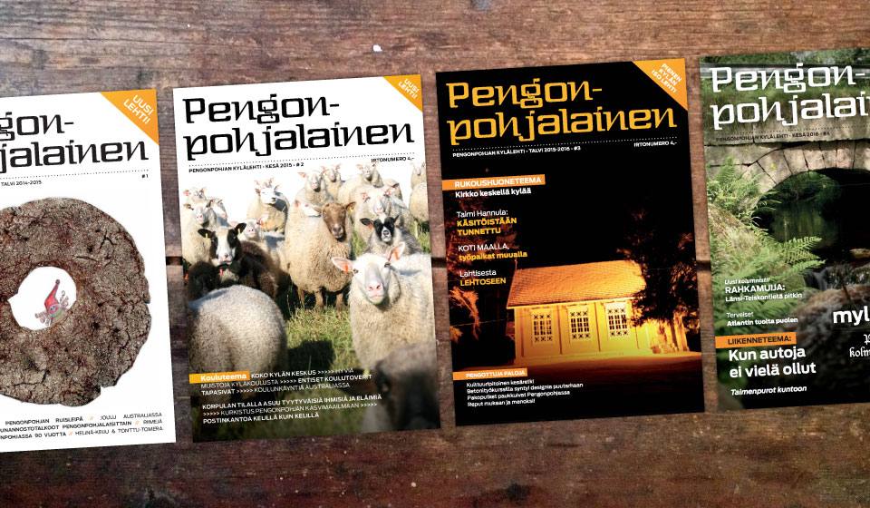 Vehree sponsorina: Pengonpohjan kylälehti, Pengonpohjalainen