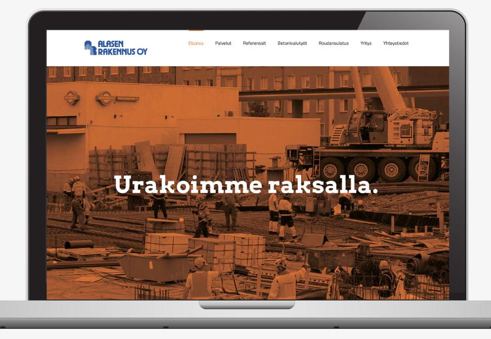 Vehree blogi: Hyvät nettisivut - Alasen rakennus