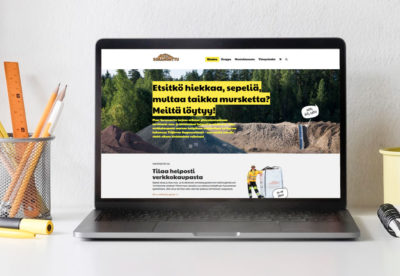 Vehree mainostoimisto: Referenssit - Pieni Soramonttu: Internet-sivuston suunnittelu ja toteutus, sisältäen verkkokaupan (2018)