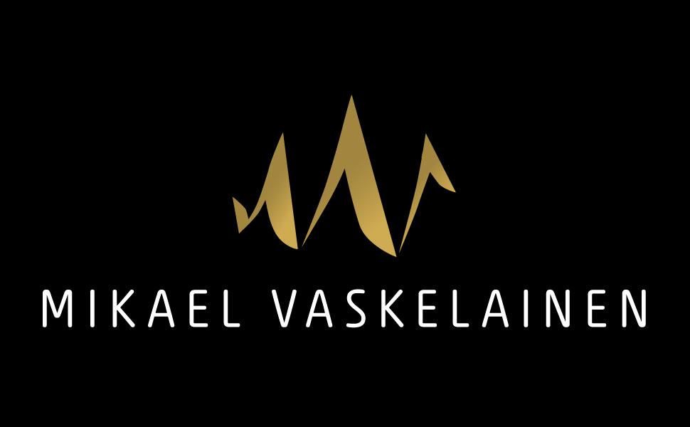 Vehree mainostoimisto: Referenssit - Mikael Vaskelainen: Logon suunnittelu (2017)