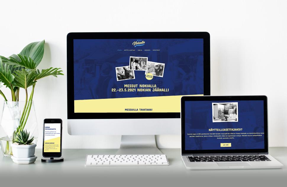 Messut Nokialla: Internet-sivuston suunnittelu ja toteutus, 2020.