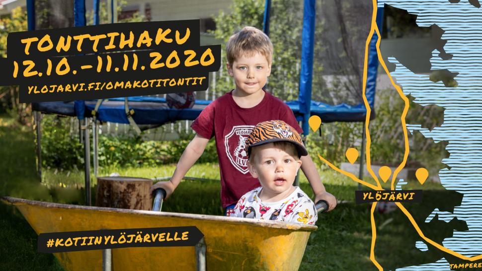 Vehree - Referenssit: Ylöjärven kaupunki - tonttimarkkinointikampanjan visuaalisen ilmeen suunnittelu ja mainosaineistojen toteutus, 2020.